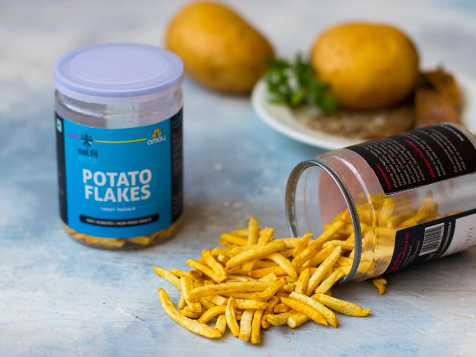 Potato Flakes: Tangy Masala Mix (20g)