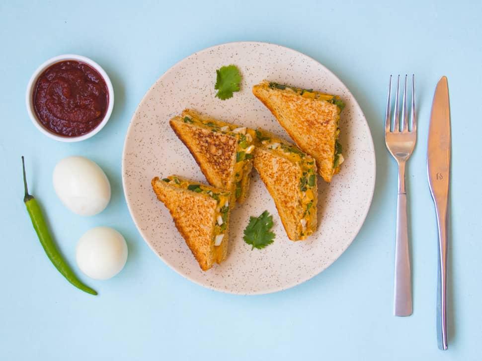 Classic Boiled Egg Sandwich