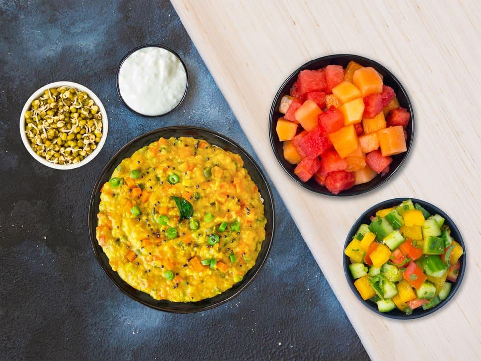 Weight Watch: Millet Khichdi Breakfast Box