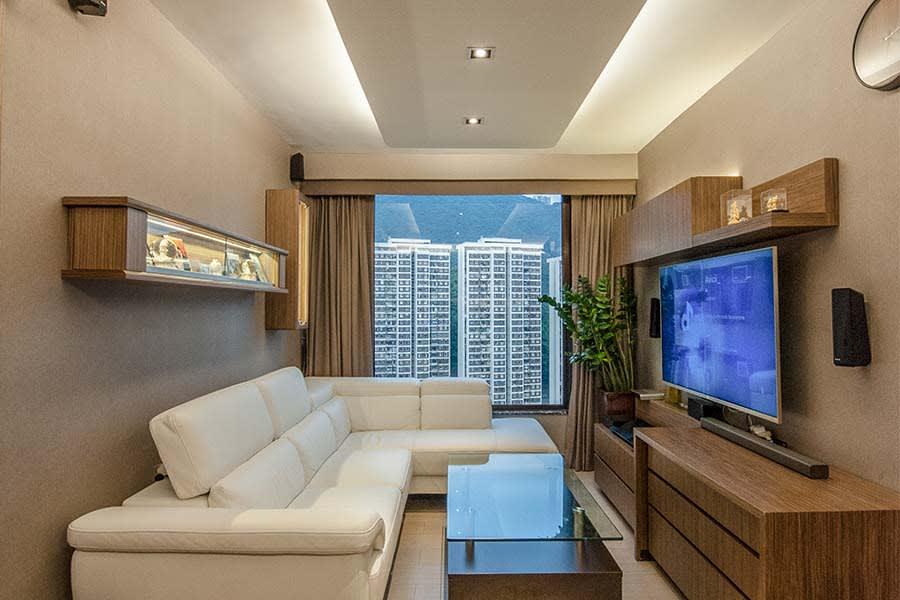 室內燈光魔術師 立體化優雅木質傢俱