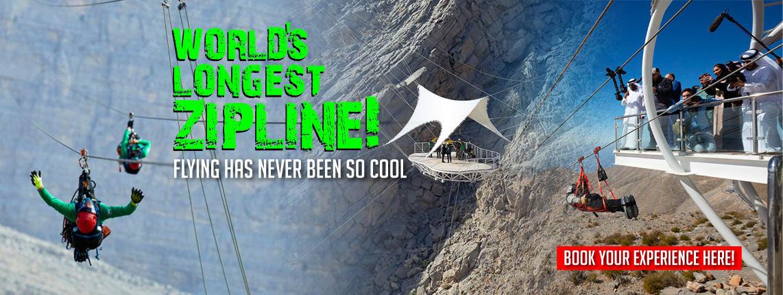 World's Longest Zipline Experience