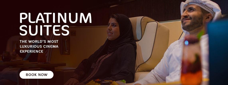Platinum Suites Cinema Dining Experience