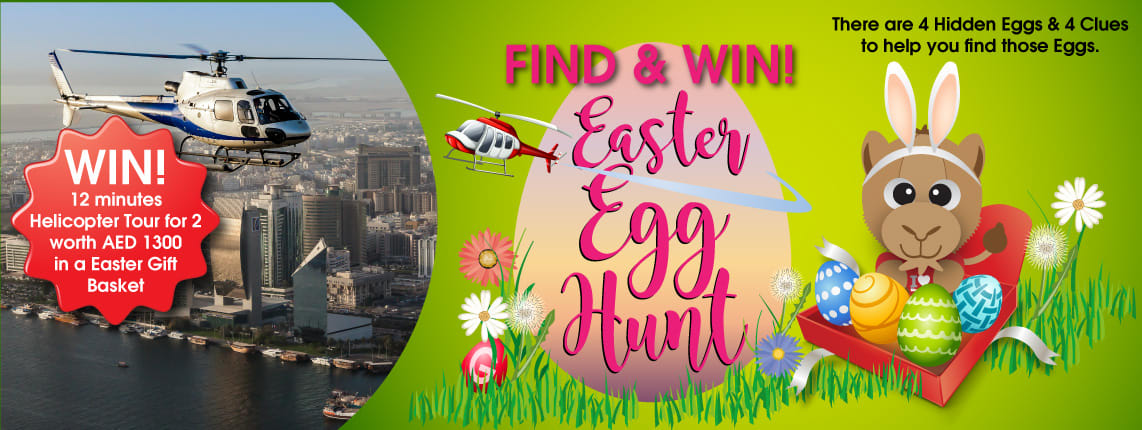 Find and Win Easter Egg Hunt