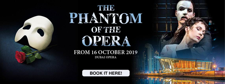Phantom Of The Opera at Dubai Opera