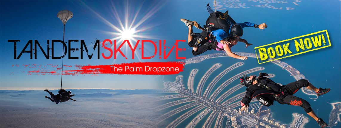 tandem Skydive The palm Experience