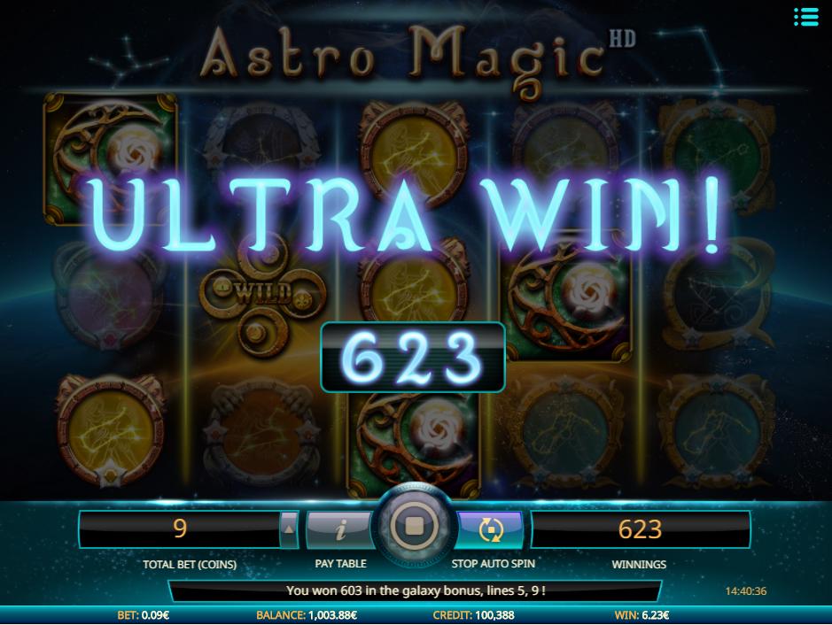 Astro Magic online casino slot from iSoftbet