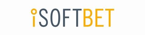 Logo of online casino game provider iSoftbet