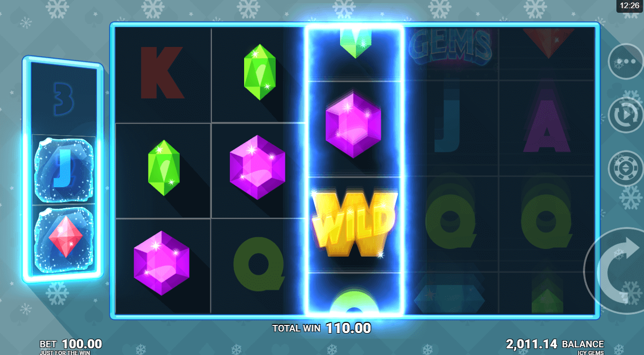 Icy Gems online casino slot from Microgaming