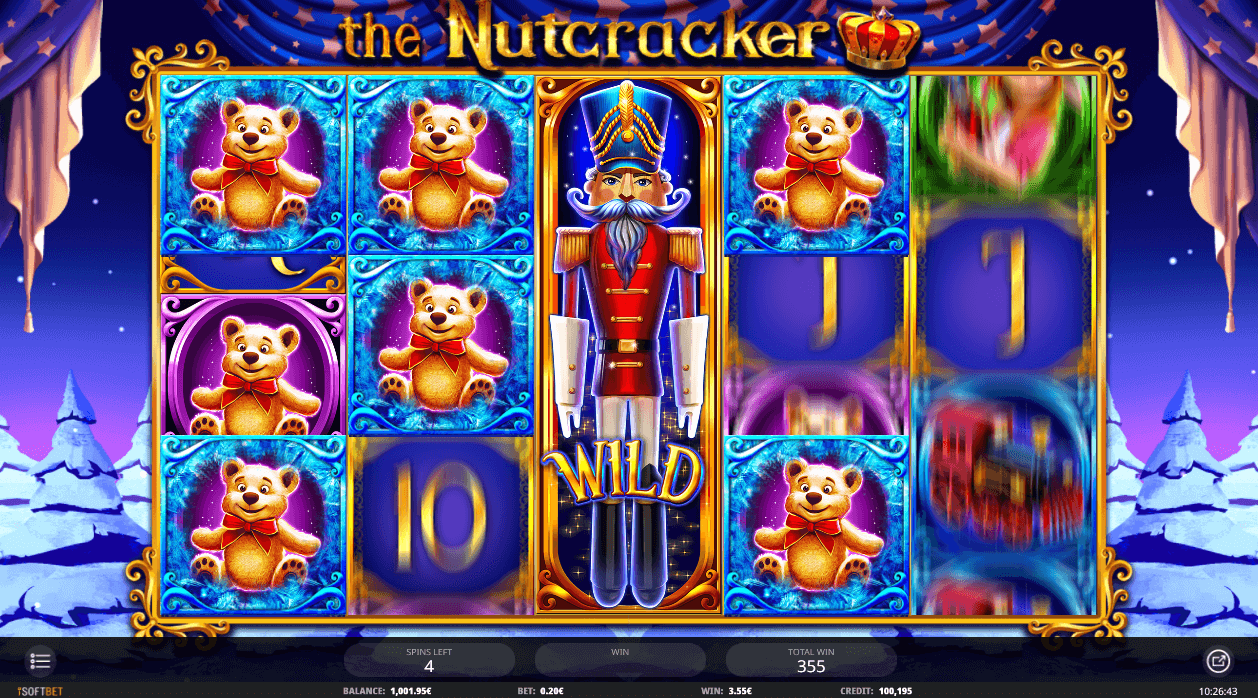 Online Casino Slot The Nutcracker from iSoftBet