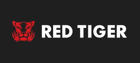 Logo of online casino game provider Red Tiger