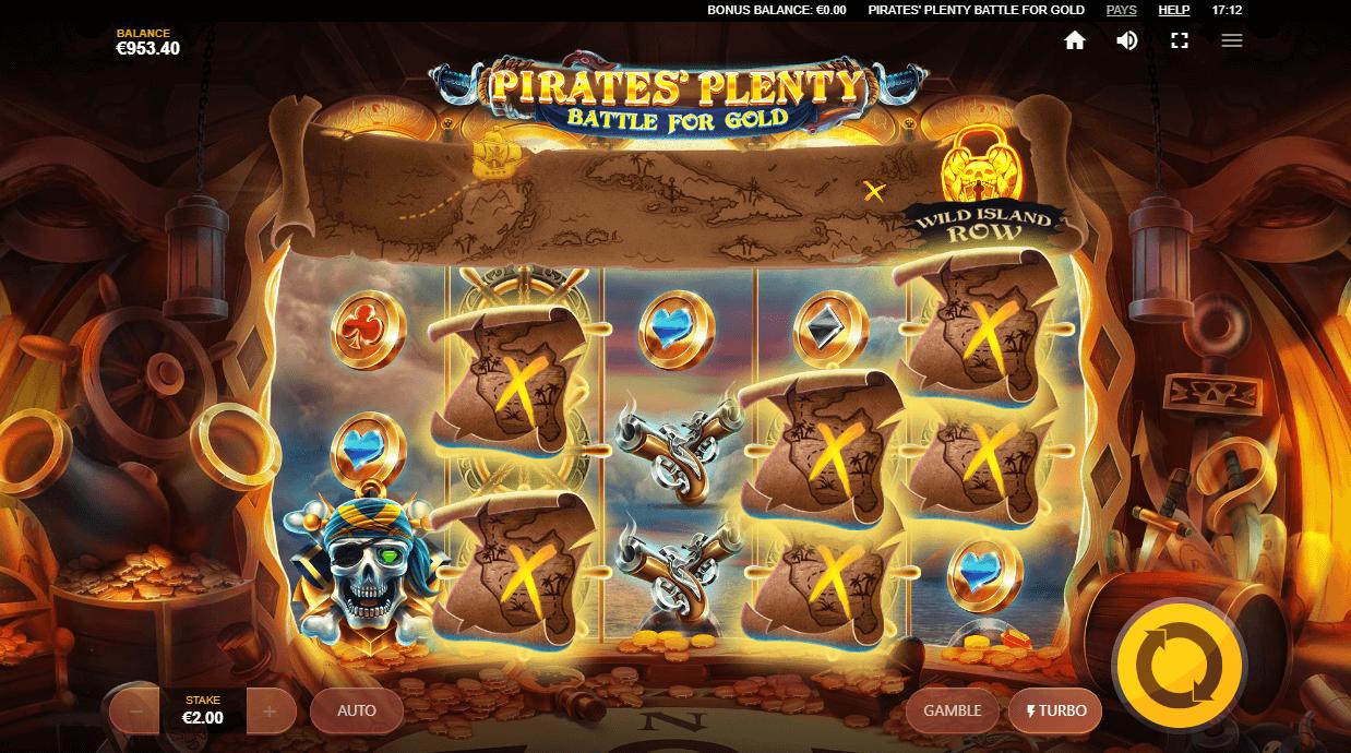 Omline Casino Slot Pirate's plenty from Red Tiger