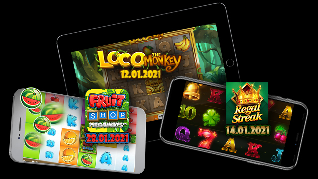 January game releases at Eat-Sleep-Bet Casino