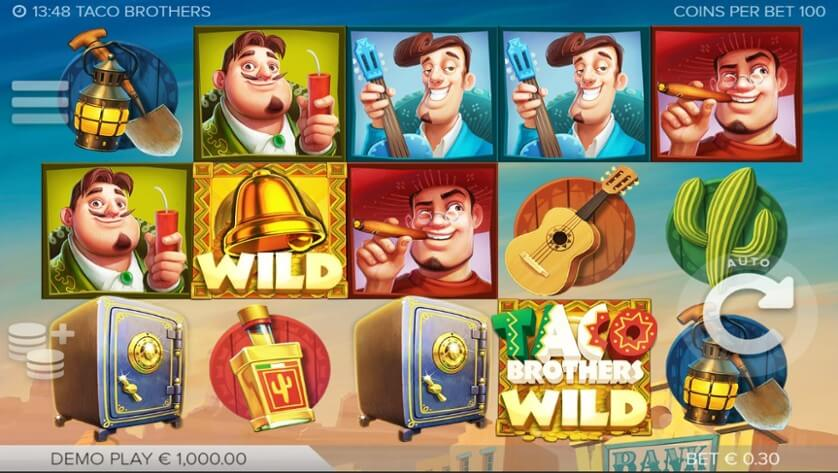 Taco Brothers online casino slot