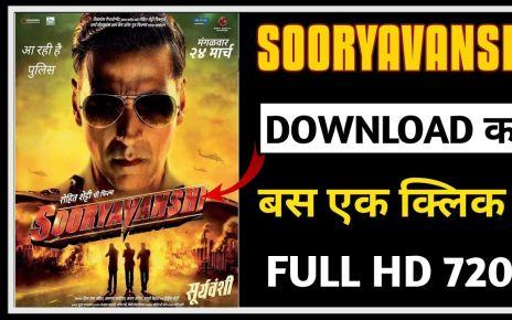Sooryavanshi movie download filmywap