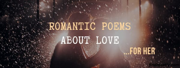 love poems for her in english