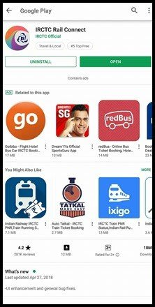 How to book rail tickets from the irctc app in Hindi
