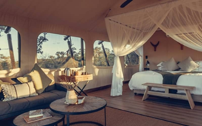 Mdluli Safari Lodge, Kruger: 1 Night for 2 in a Luxury Tent + Meals & 1 Game Drive @ R4 599 pn!