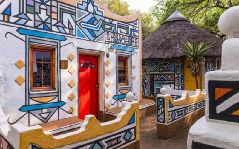 Lesedi African Lodge & Cultural Village: Full Home Stay-1 Night Stay for 2 from R1 320 per night!