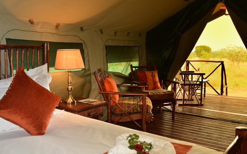 KWAFUBESI TENTED SAFARI CAMP: 1 Night Luxury Tent Stay for 2 + Meals & 2 Safaris from R2 999 pn!