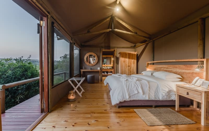Hlosi Game Lodge- 1 Night stay for 2 in a Luxury Safari Tent for only R4 599 pn!