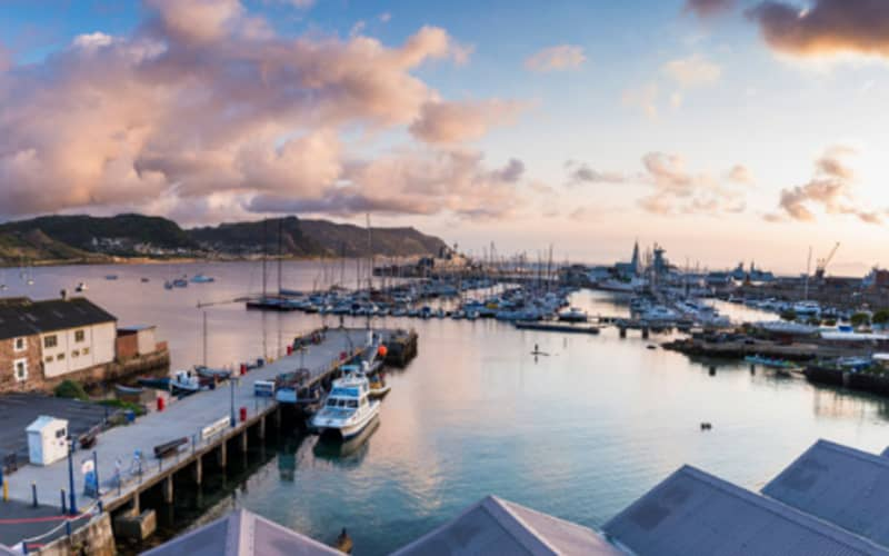 Simon's Town Quayside Hotel: 1 Night Sea View stay for 2 People + Breakfast from only R1 399 pn!