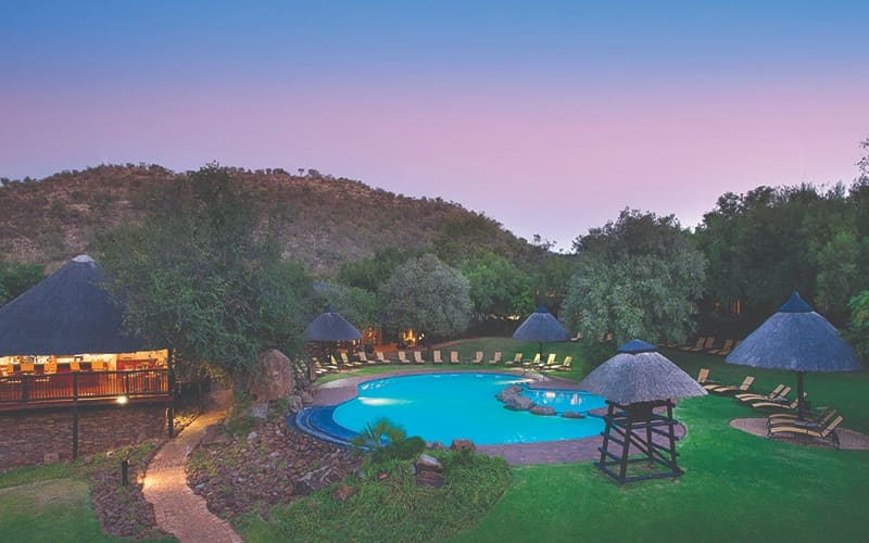 BAKUBUNG BUSH LODGE: 1 Night Stay for 2 + Meals & Game Drive from R4 099 per night!