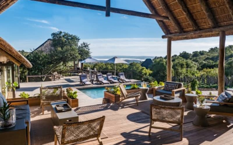 Amakahla BUKELA Game Lodge-Eastern Cape- 1 Night Luxury Stay for 2 + All Meals + 2 Game Drives!