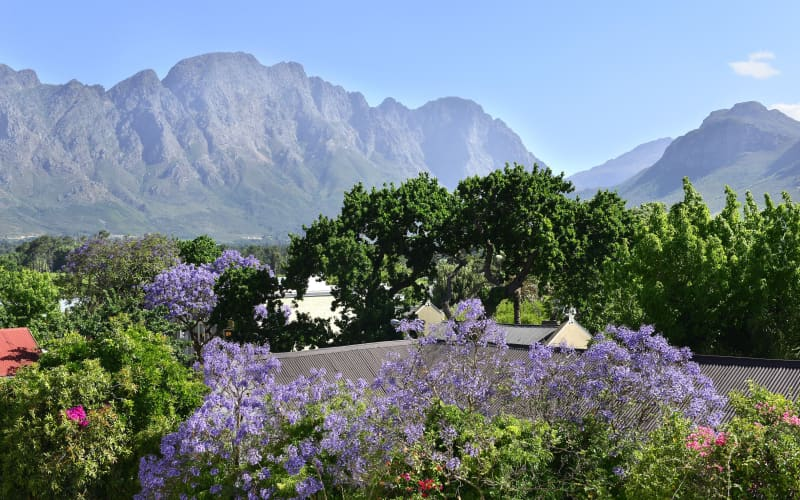 FRANSCHHOEK BOUTIQUE HOTEL: 1 Night LUXURY Stay for 2 + Breakfast!