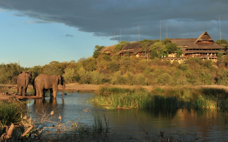 Victoria Falls Safari Lodge, Zimbabwe: 1 Night Stay FOR 2  + Breakfast- Overlooking the Zambezi National Park!