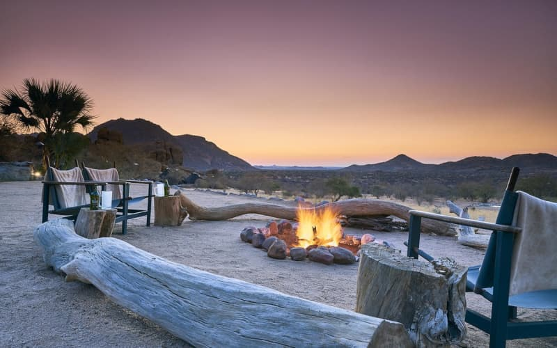 NAMIBIA: Ai Aiba -The Rock Painting Lodge-2 Night Stay for 2 + Meals + Guided Walks!
