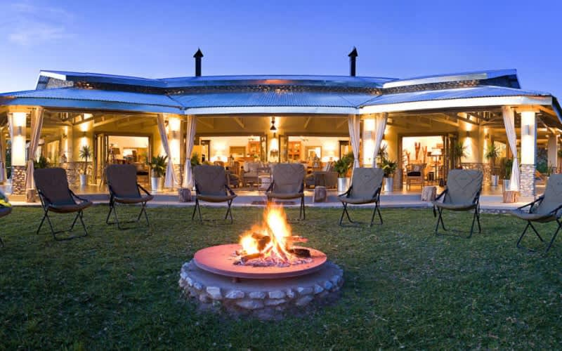 NAMIBIA: Mushara Outpost- 2 Night Luxury Tented stay for 2 & Breakfast + Dinner!