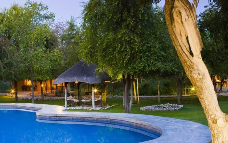 NAMIBIA: Mushara Lodge- 2 Night Luxury stay for 2 & Breakfast + Dinner!