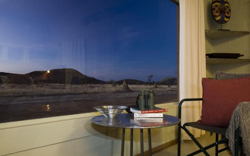 NAMIBIA: OKONJIMA PLAINS CAMP- 2 Night Stay for 2 + Breakfast + Dinner!