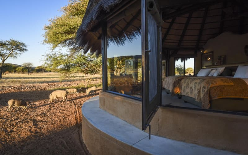 NAMIBIA: OKONJIMA LUXURY Bush Camp -2 Night Stay for 2 + Breakfast + Dinner!
