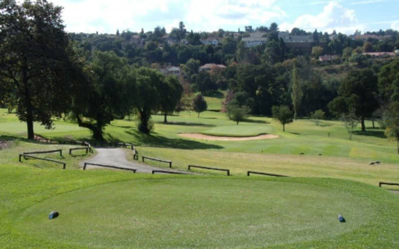 Observatory Golf Club 4-Ball deal - only R669!