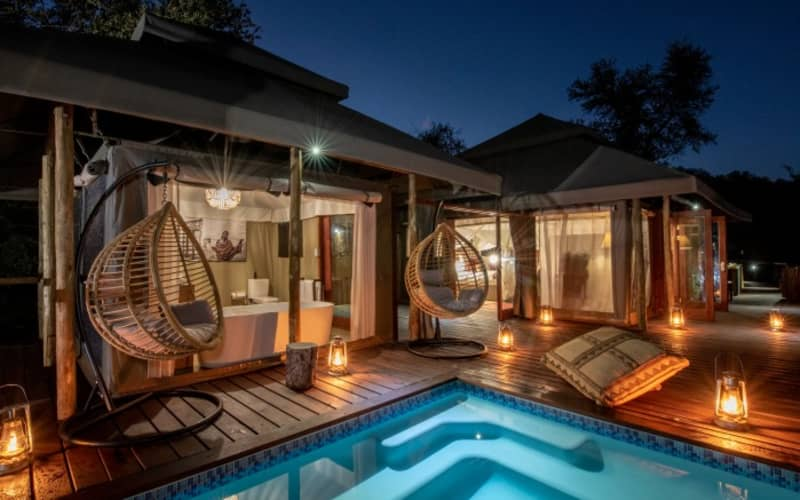 TINTSWALO LAPALALA- Waterberg- 1 Night LUXURY Tented Stay for 2 + Meals + Safari Activities!