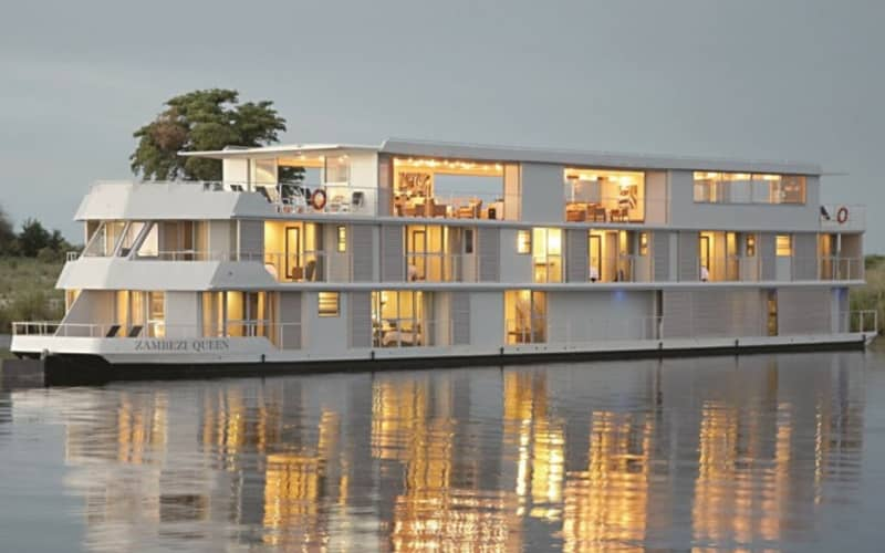 Zambezi Queen Floating Boutique Hotel: All-Inclusive Stay Plus Guided Tours and MORE from only R4 940 pps per night!
