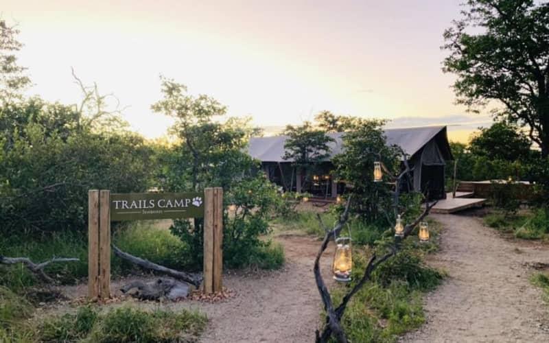 Simbavati Trails Camp: 1 Night Tented Stay for 2 people + Meals & Safari Walks!