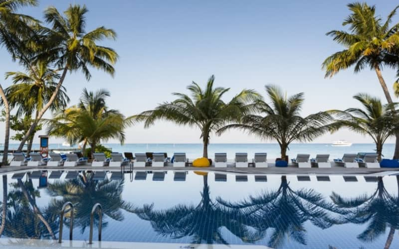 MALDIVES: 7 Night Stay at 4* Meeru Island Resort from R24 930 pps!