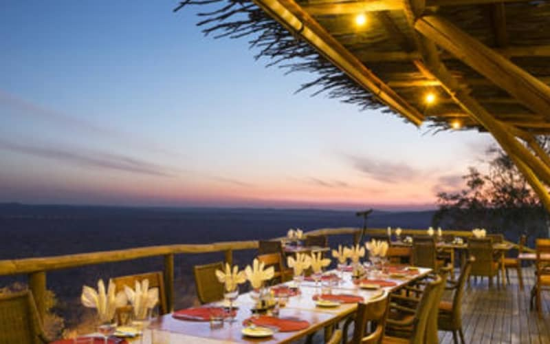 NAMIBIA: ONGAVA LODGE - 1 Night LUXURY Stay for 2 + Breakfast + Dinner!