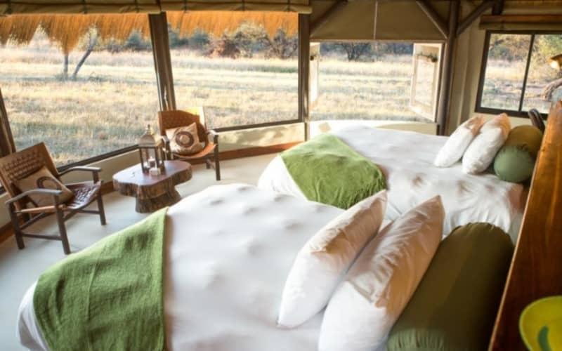 NAMIBIA: OKONJIMA Bush Camp - 1 Night LUXURY Stay for 2 + Breakfast + Dinner!