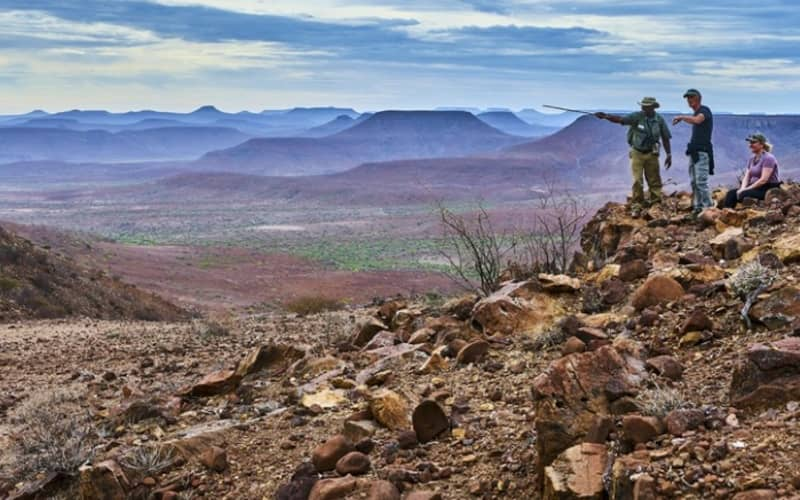 NAMIBIA: ETENDEKA HIKING TRIALS - 2 Nights Stay for 2 + All Meals & Private Guided Hiking experience!