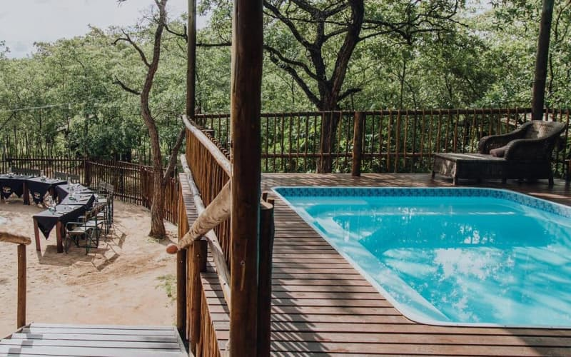 Buffalo Rock Tented Camp- EXCLUSIVE USE of Camp for 8 people for only R1 839 pp pn!