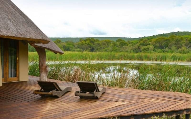 TALA COLLECTION PRIVATE GAME RESERVE - KZN - 1 Night Luxury Stay for 2 + Breakfast at LEADWOOD COTTAGE!