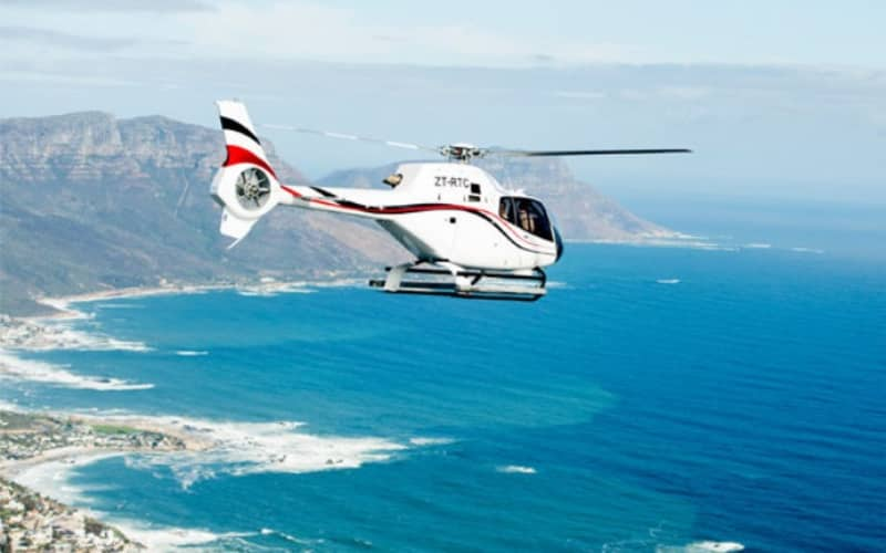 HOPPER Scenic Flight for 4 people sharing - Cape Town Stadium - Lions Head - Clifton - Camps Bay for only R1 700pp!