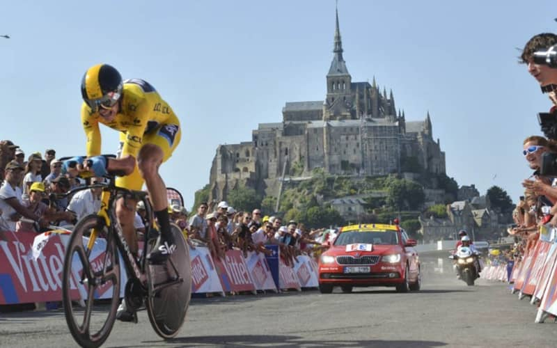 TOUR DE FRANCE 2022 Mont Saint Michel Loire Valley 7 Day Guided Bike Tour From R57 699 pps!