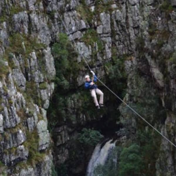 ZIPLINE  - Elgin Cape Canopy Tour Package now R995 pp! Includes Lunch + Personalized Video!