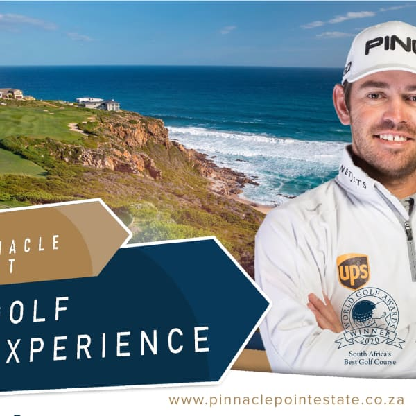 PINNACLE POINT EXPERIENCE: 18 Holes & Shared Cart + Welcome Gift + Halfway Meal + Sleeve of Golf Balls for ONLY R999pp