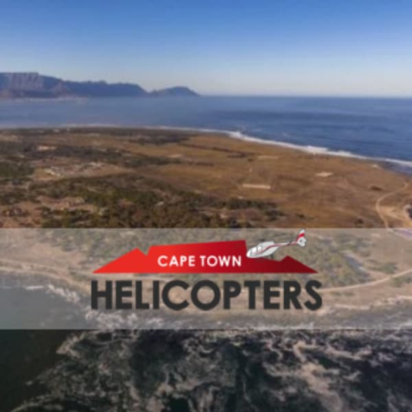 Stunning Robben Island Scenic Flight with Cape Town Helicopters for 4 - only R8 000!
