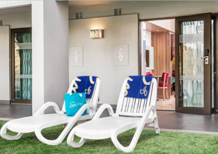 Sun City CABANAS 2021: 1 Night Midweek Stay for 2 people + Breakfast from R1 849 pn!